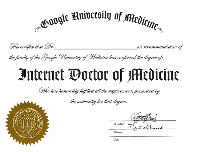 The University Of Google Armchair Science Amp Medicine