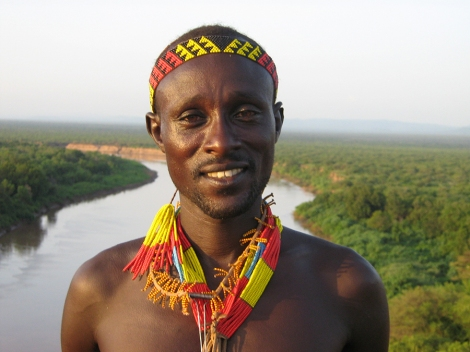 Omo River man